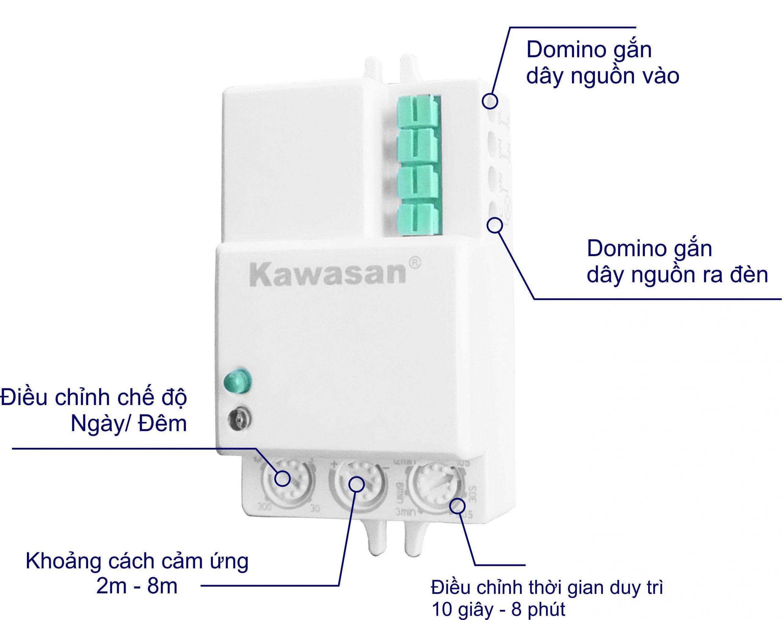 Cấu tạo chi tiết công tắc cảm ứng RS02D