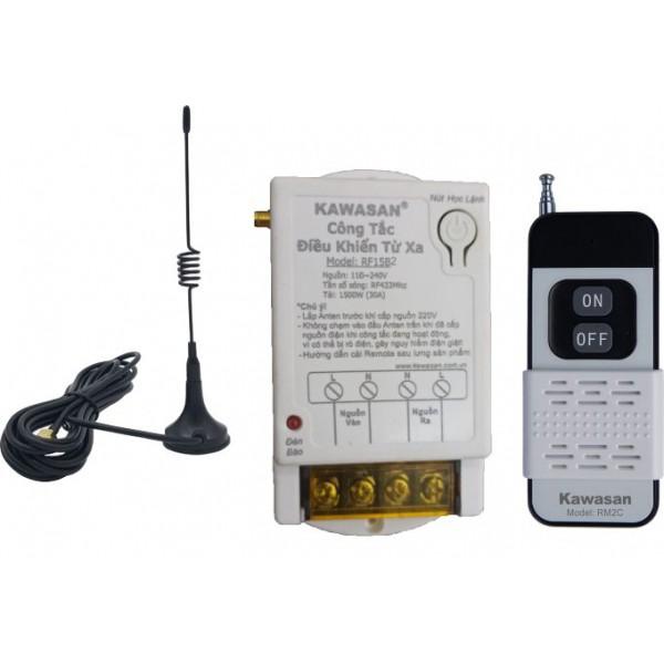 Công tắc điều khiển từ xa Anten dạng dây dài khoảng cách điều khiển từ 300-1000m