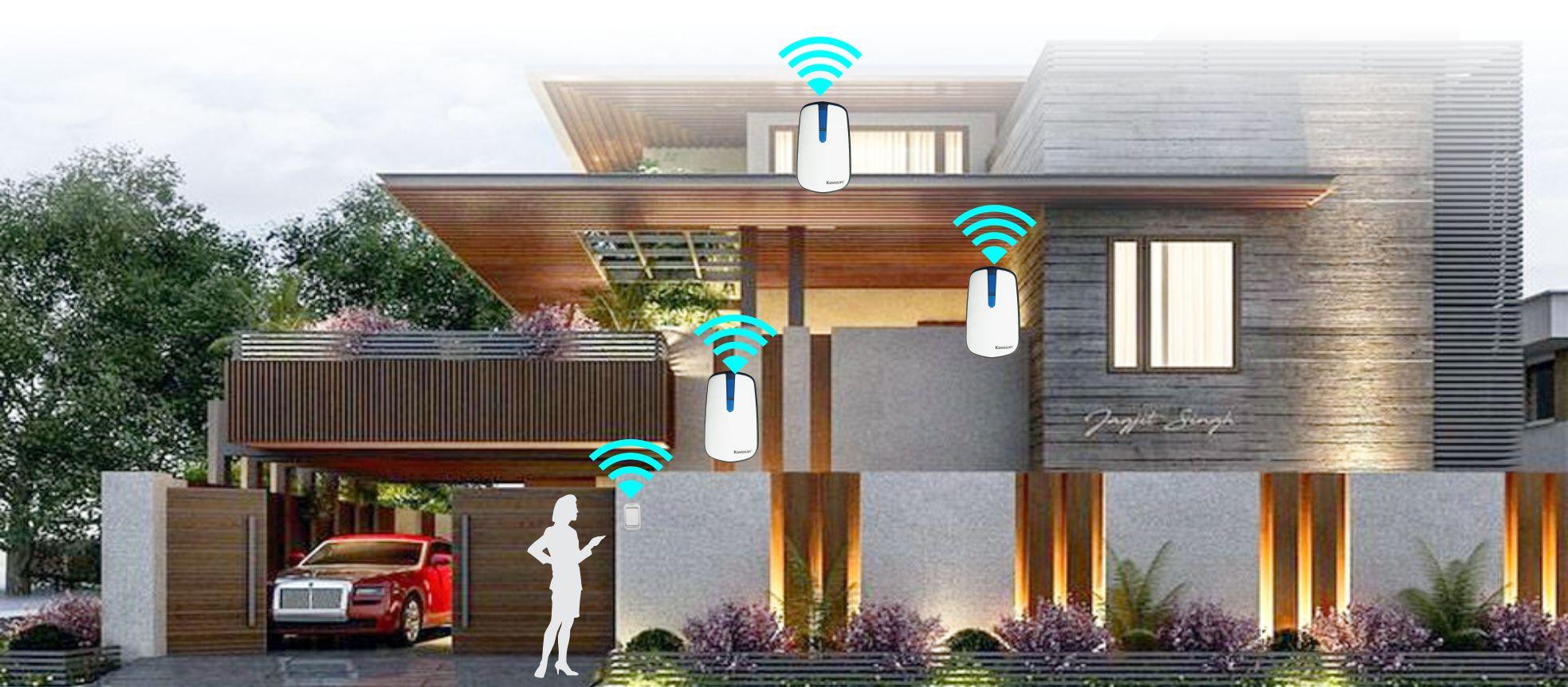 Báo khách không dây được dùng ở nhiều cho nhà ở