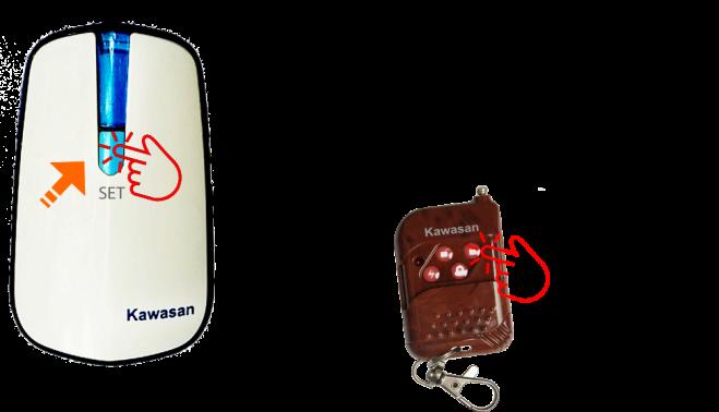 Cách tích hợp remote với chuông không dây