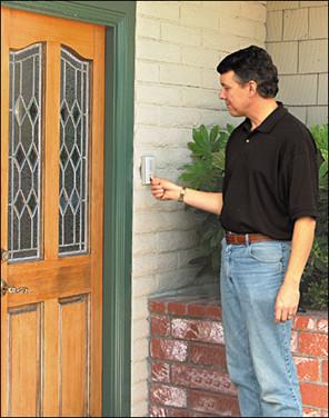 Chuông cửa mang đến nhiều tiện ích cho người dùng
