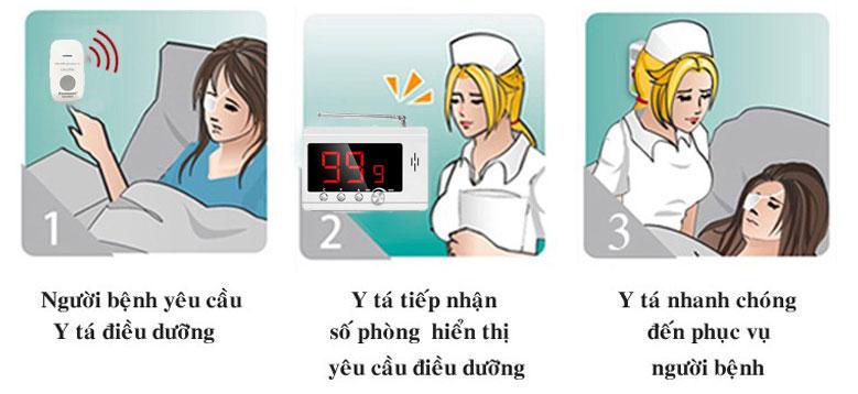Tạo sự an tâm cho người bệnh