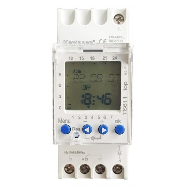 Ts611 thiết bị hẹn giờ kỹ thuật số