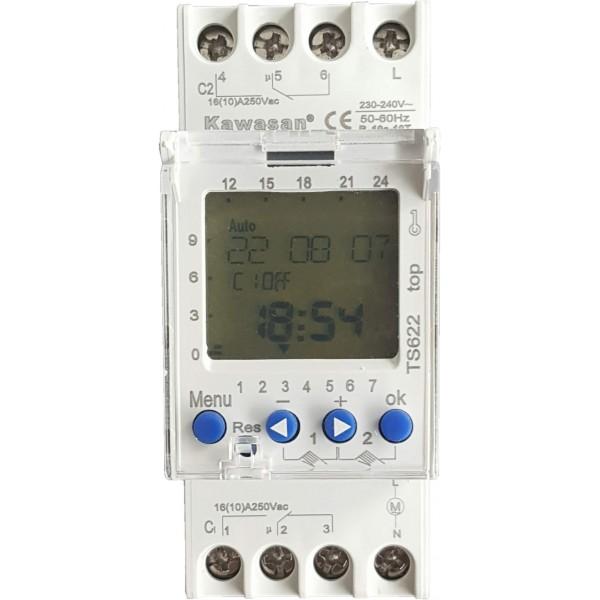 TS622 Thiết bị hẹn giờ kỹ thuật số