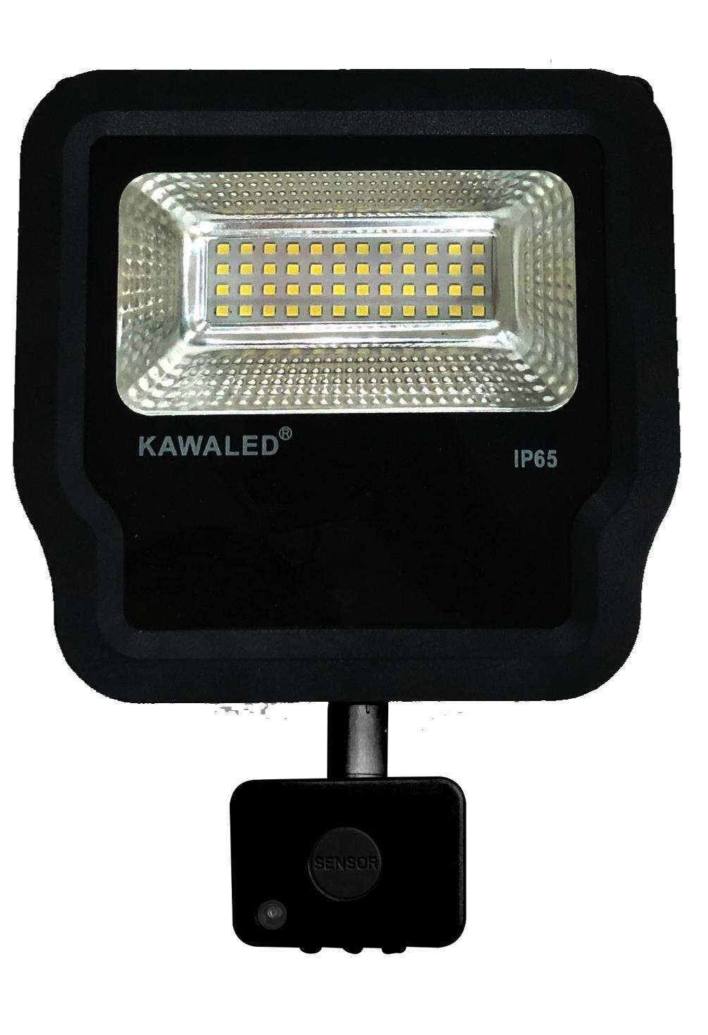 đèn pha led cảm ứng vi sóng